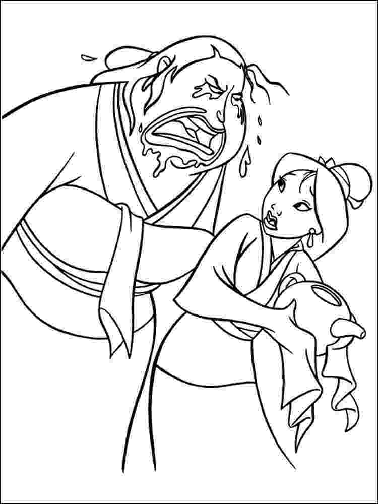 mulan printables disney39s mulan coloring pages disneyclipscom mulan printables 1 1