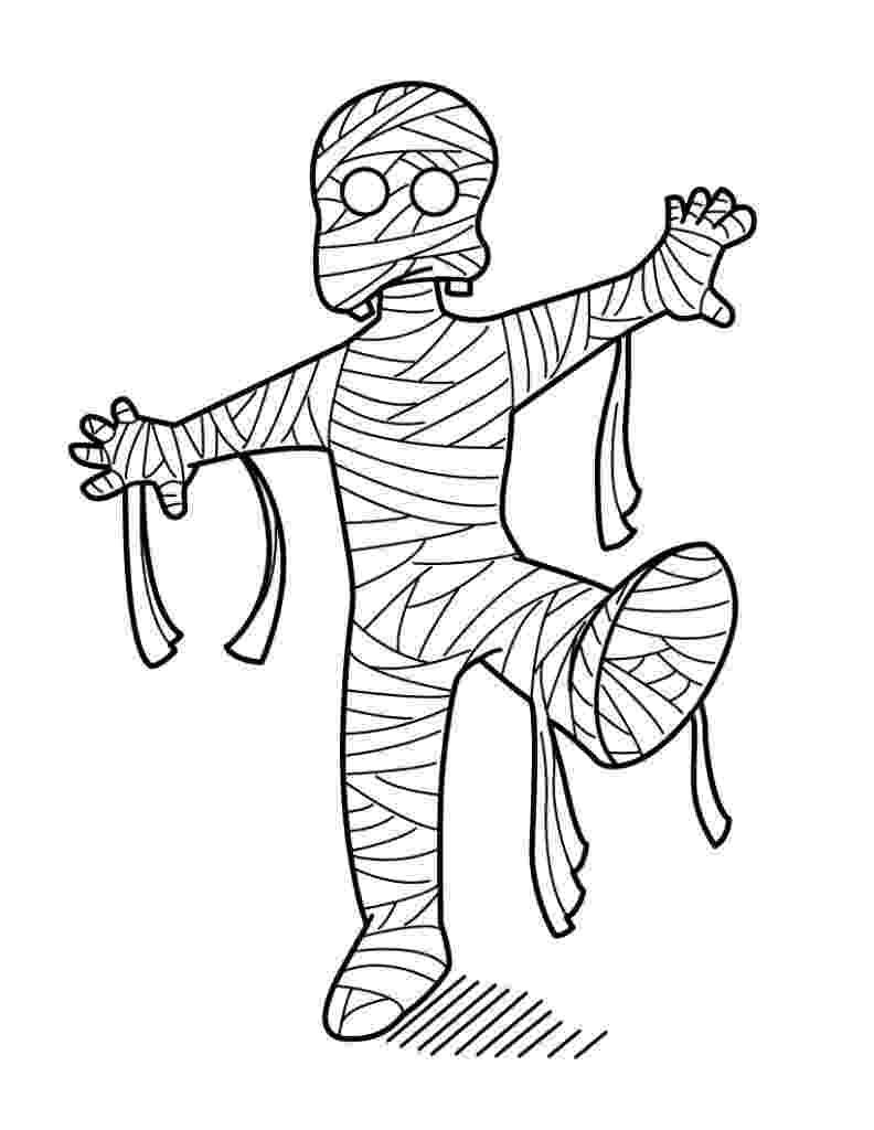 mummy coloring page free printable mummy coloring pages for kids mummy coloring page