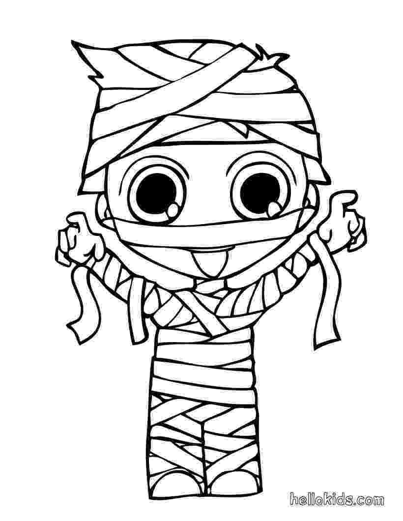 mummy coloring page mummy39s son coloring pages hellokidscom page mummy coloring