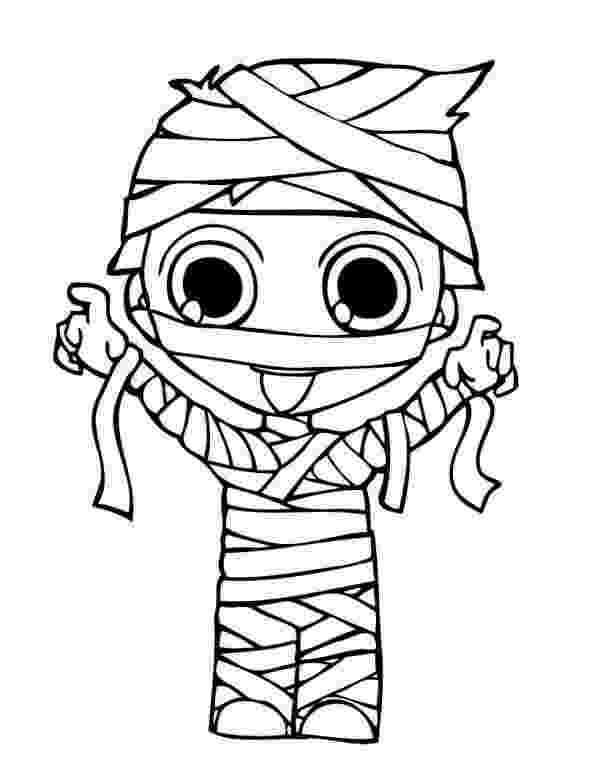 mummy coloring page printable mummy coloring pages for kids cool2bkids coloring page mummy 1 1