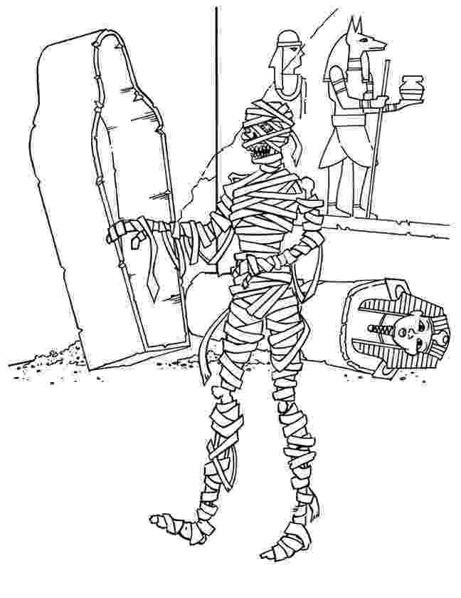 mummy coloring pages free printable mummy coloring pages for kids coloring mummy pages