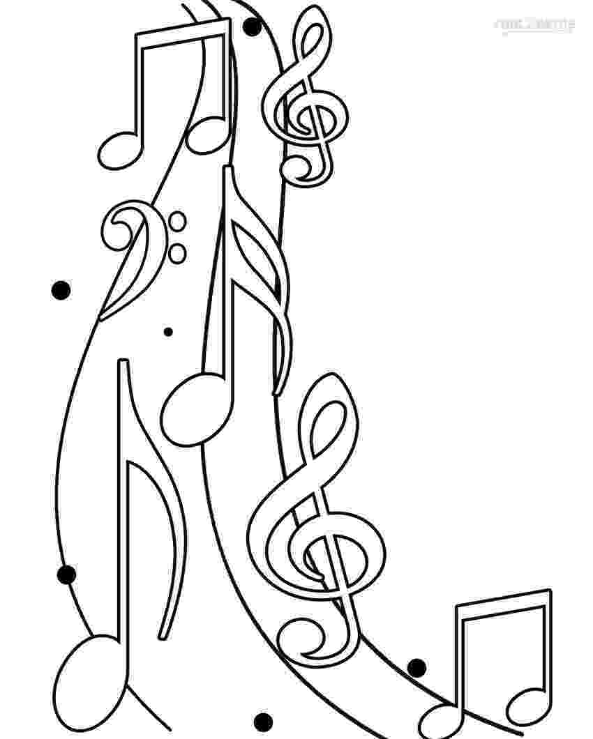 music coloring sheets music note coloring pages to download and print for free sheets coloring music