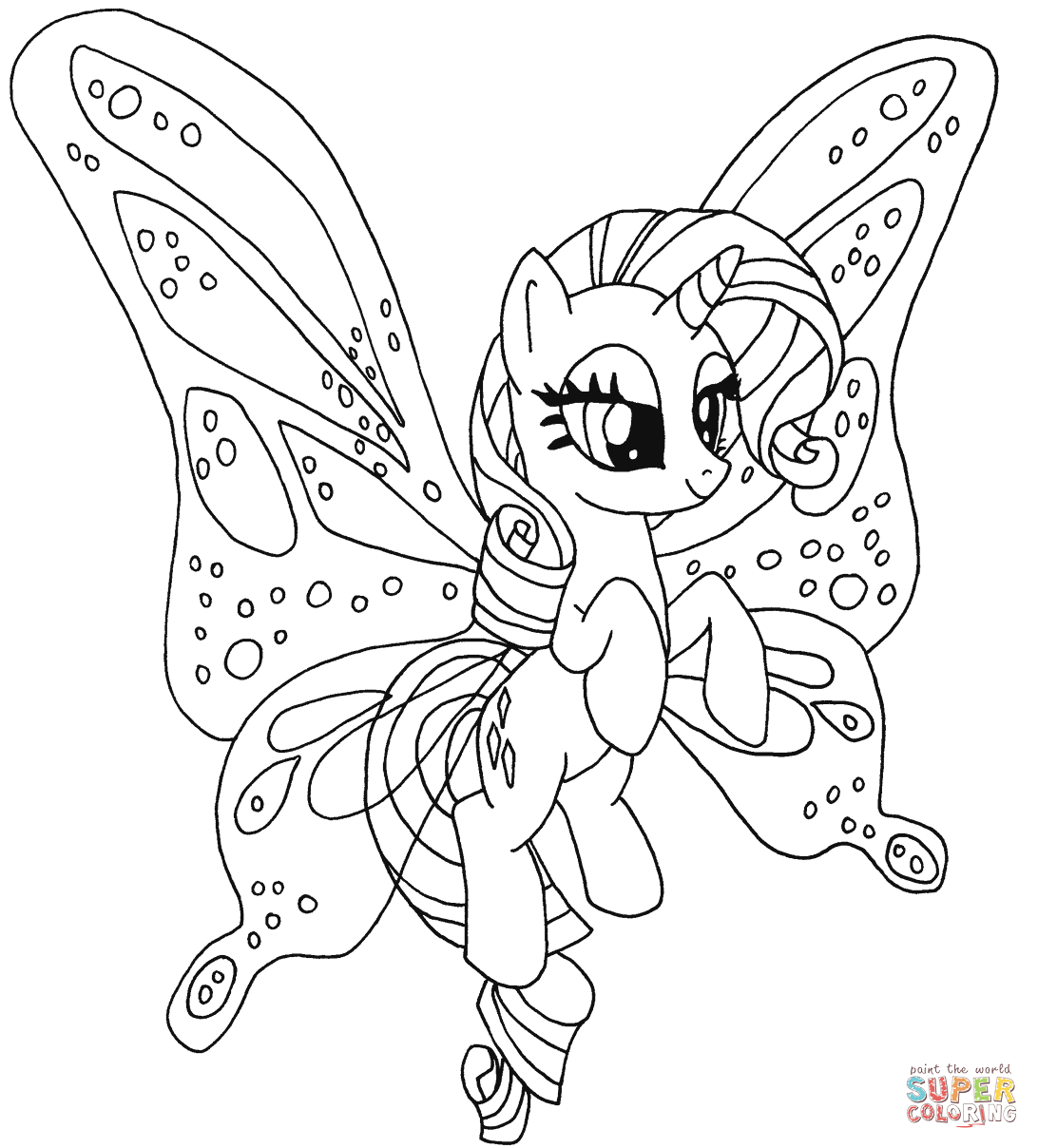 my little pony colors little pony 3 coloring pages for kids pony colors my little