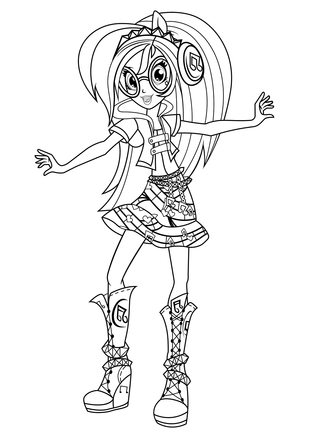 my little pony equestria coloring pages fluttershy equestria girls by lcibos coloring pages coloring my pages pony little equestria