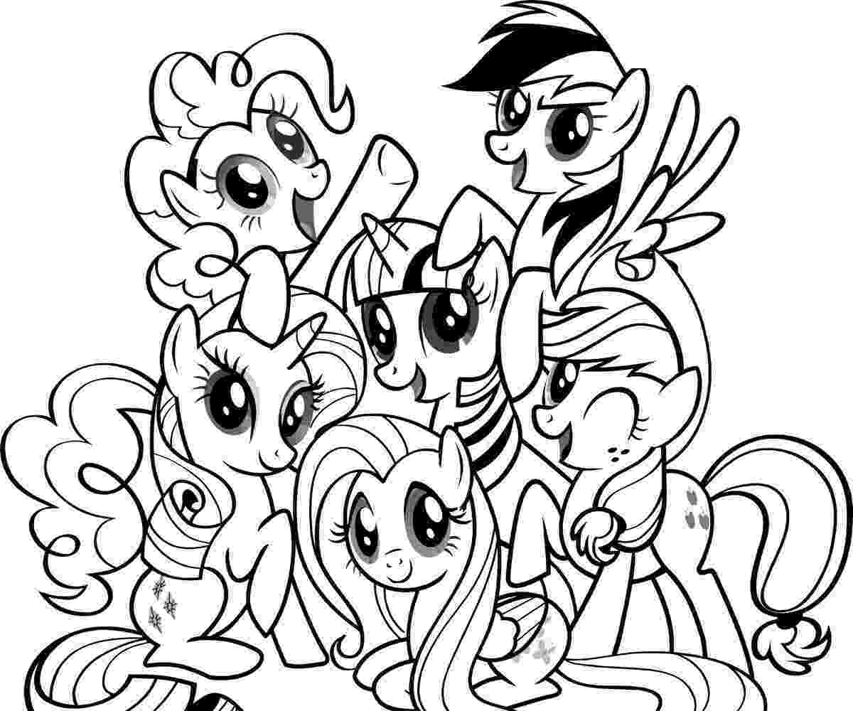 my little pony pages free printable my little pony coloring pages for kids pony little pages my