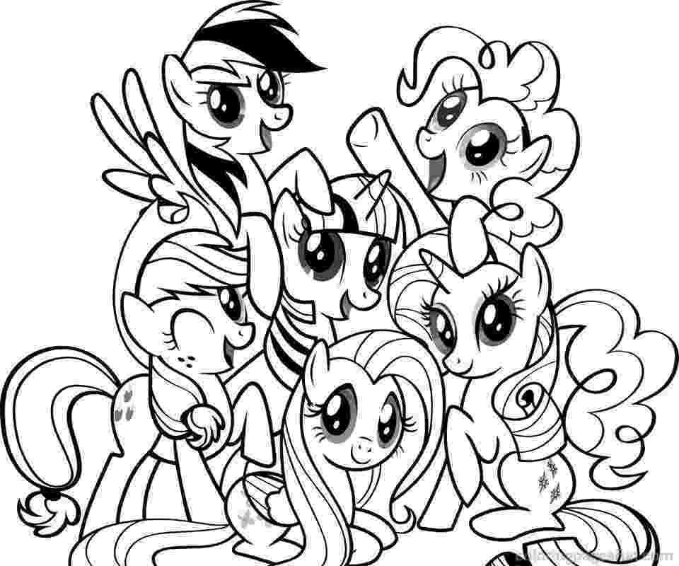 my little pony pages my little pony coloring pages print and colorcom my pages little pony