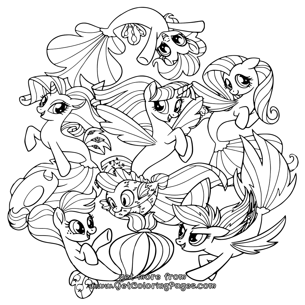 my little pony pages my little pony girls coloring page my little pony my pony pages little
