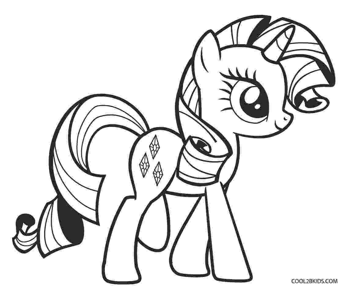 my little pony picture to color free printable my little pony coloring pages for kids my color little picture pony to