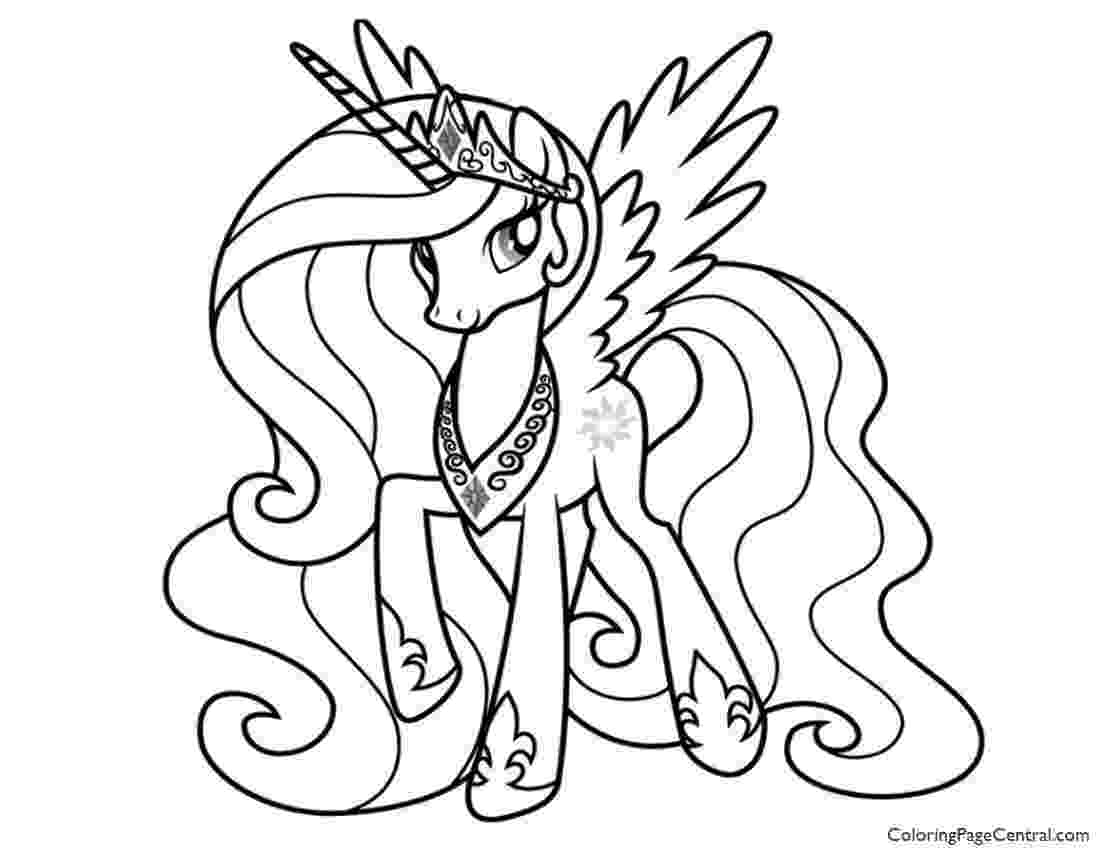 my little pony picture to color prinses candance kleurplaat gratis kleurplaten printen color to little my picture pony