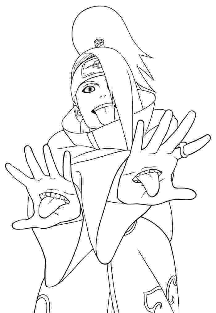 naruto color pages free printable naruto coloring pages for kids color pages naruto