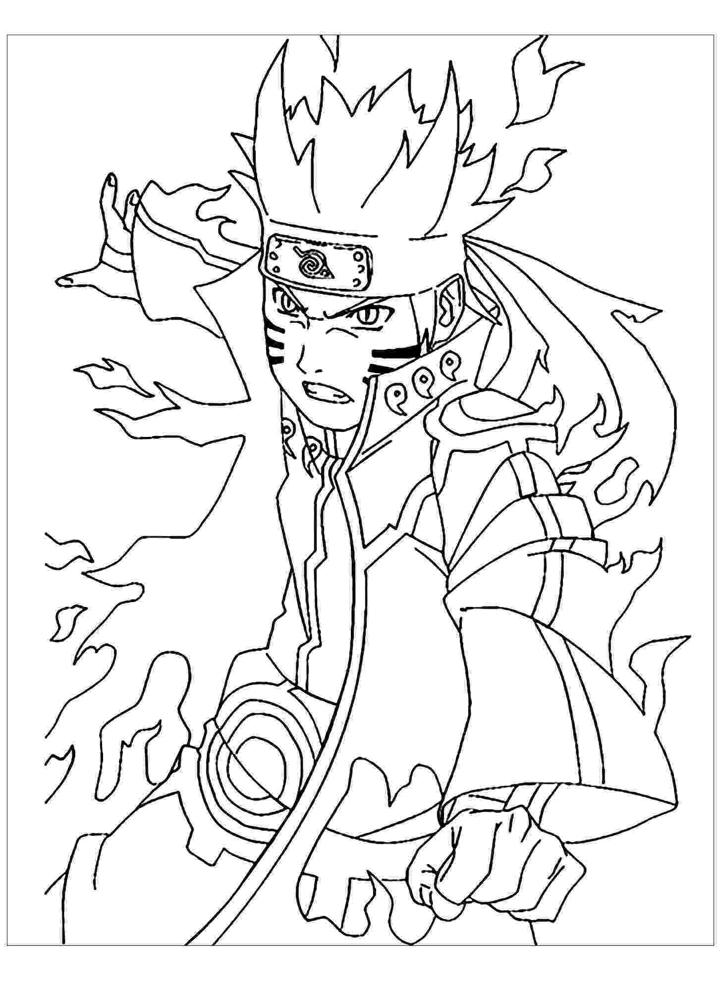 naruto color pages free printable naruto coloring pages pages color naruto