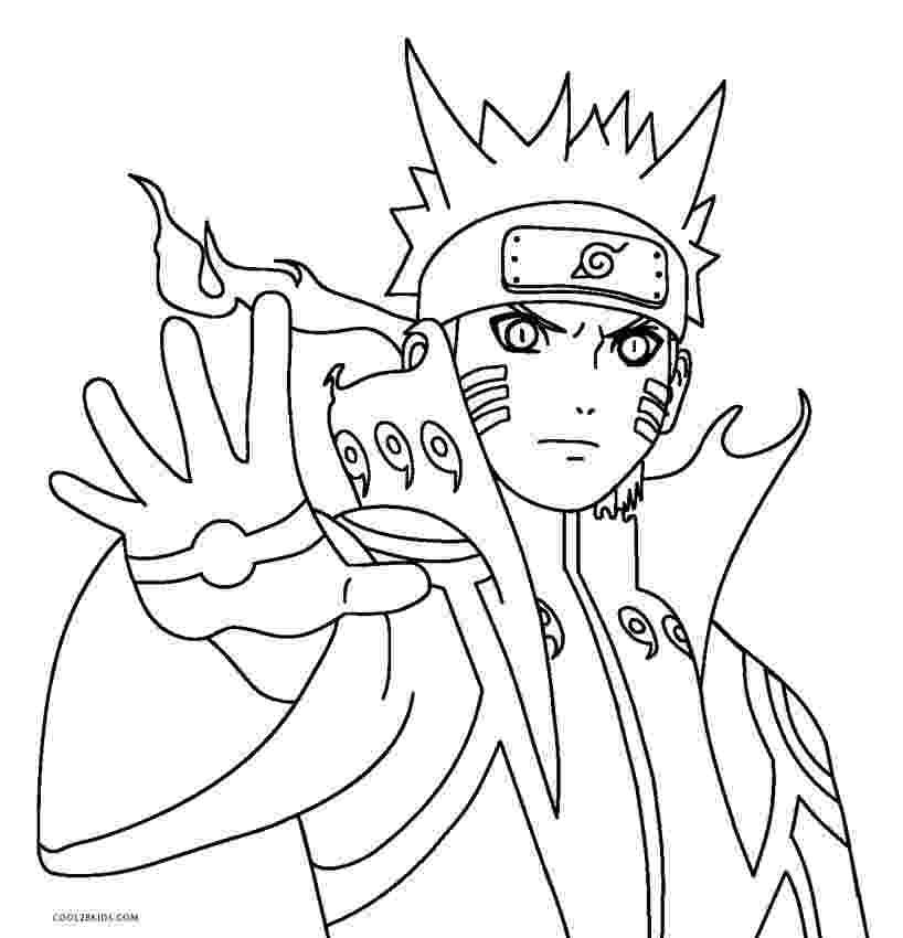 naruto color pages naruto coloring pages color naruto pages