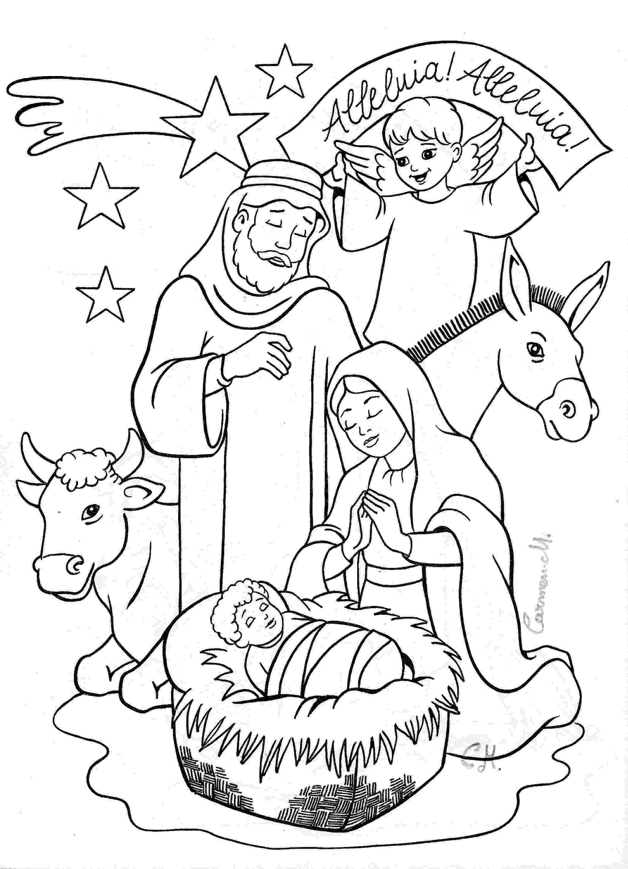 nativity coloring sheets printable nativity coloring page christmas coloring pages nativity coloring printable sheets