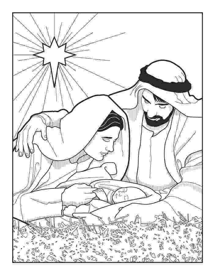 nativity coloring sheets printable nativity coloring pages getcoloringpagescom coloring nativity printable sheets