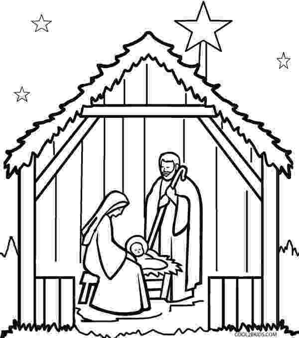 nativity coloring sheets printable printable nativity scene coloring pages for kids cool2bkids sheets nativity printable coloring