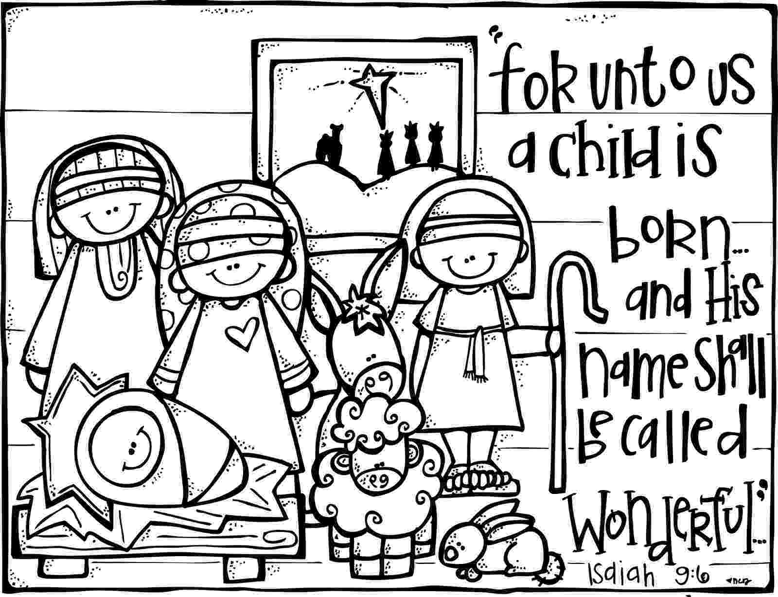 nativity coloring sheets printable zucchini summer 4 reasons we give our kids 4 christmas gifts coloring printable sheets nativity
