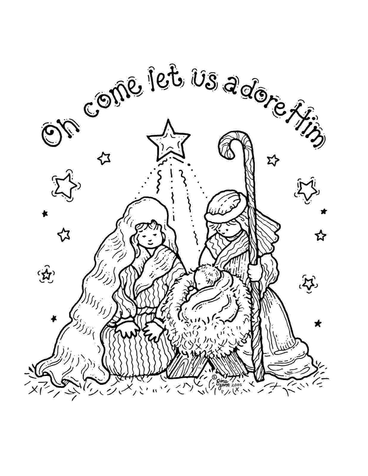 nativity scene coloring pages free printable nativity coloring pages for kids nativity scene coloring pages