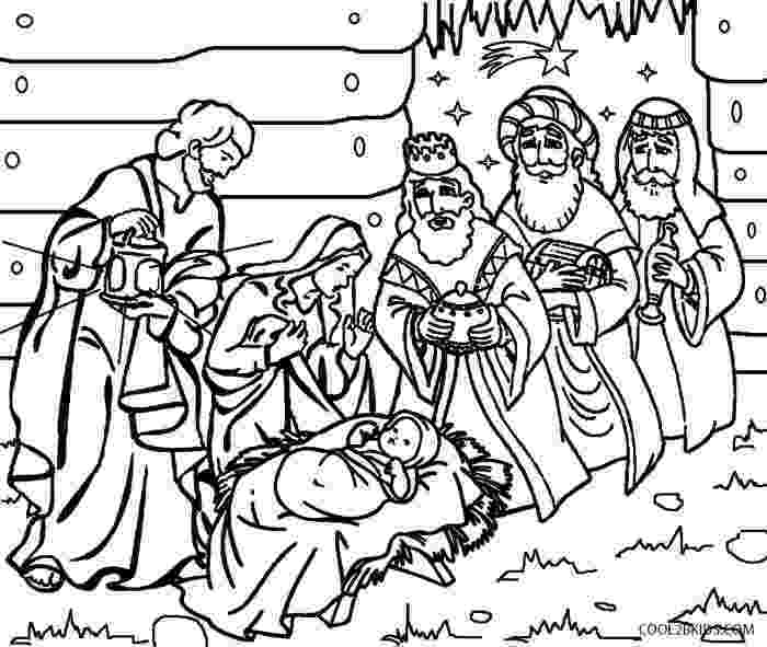 nativity scene coloring pages printable nativity scene coloring pages for kids cool2bkids coloring nativity scene pages