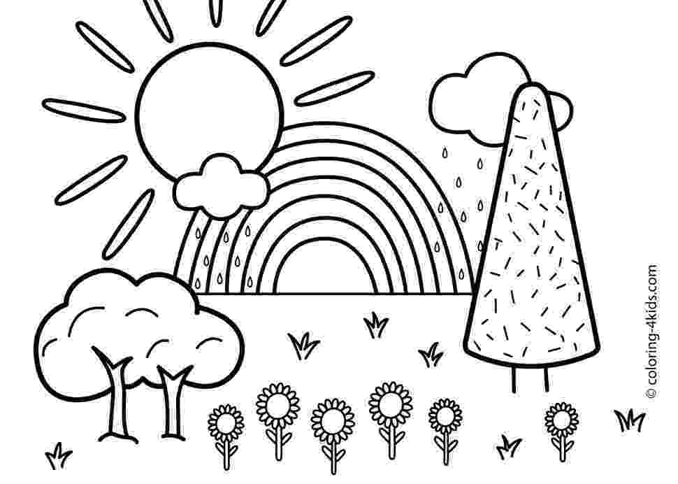 nature colouring pictures printable nature coloring pages for kids cool2bkids pictures nature colouring