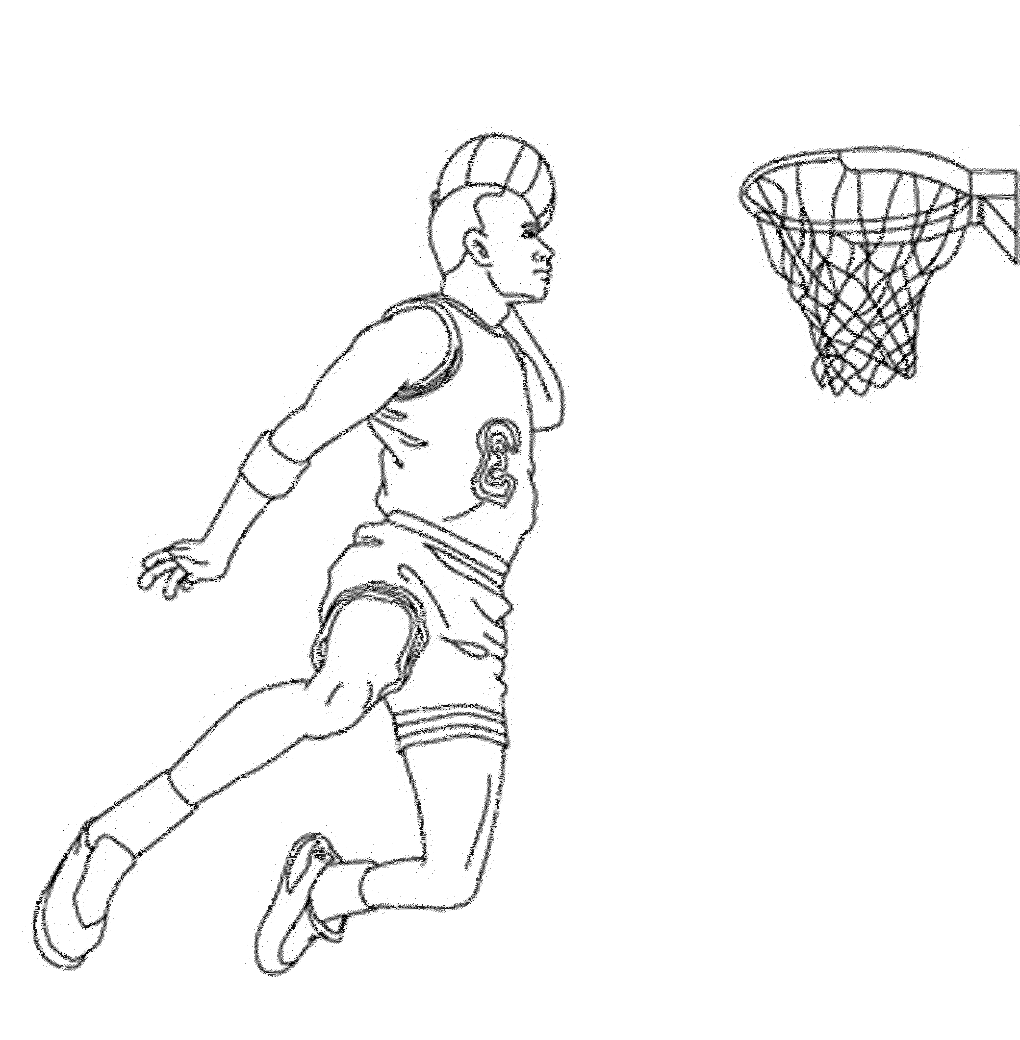 nba players coloring pages basketball player peja stojakovic nba coloring page coloring pages nba players