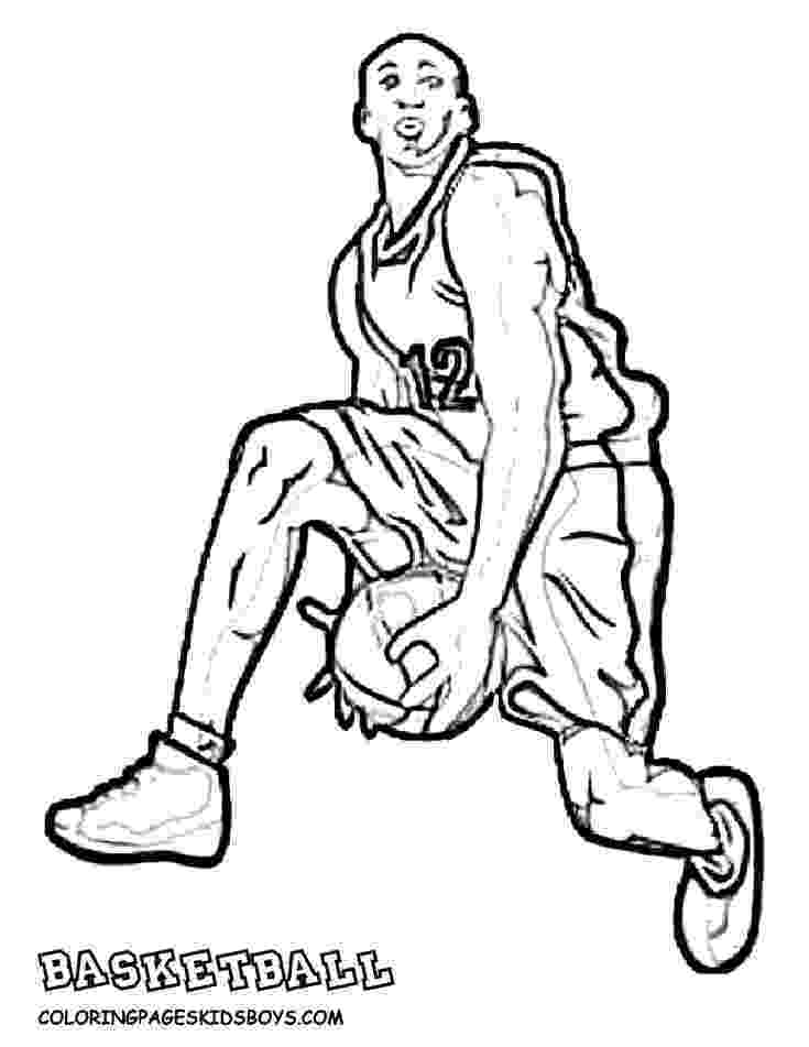 nba players coloring pages print download interesting basketball coloring pages pages players coloring nba