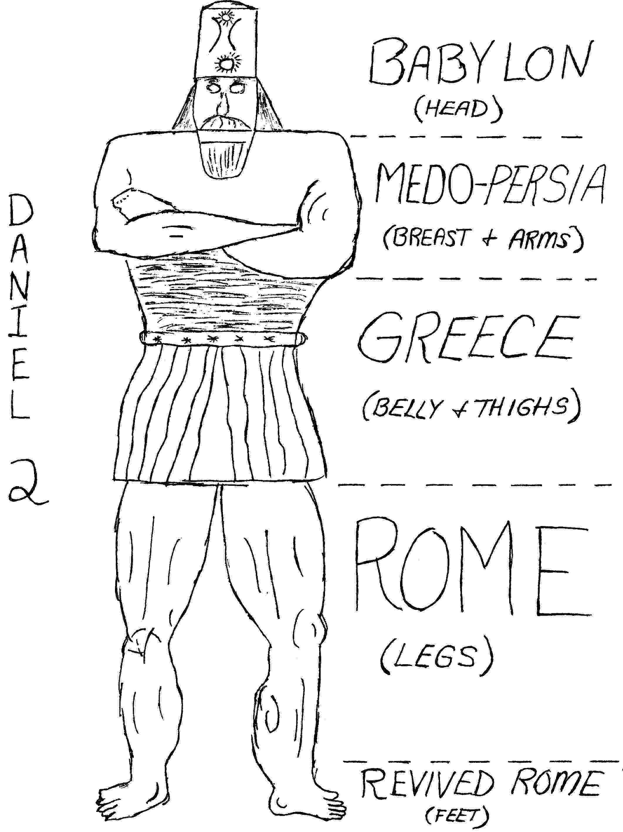nebuchadnezzar coloring page coloring pages nebuchadnezzar39s dream statue history coloring nebuchadnezzar page