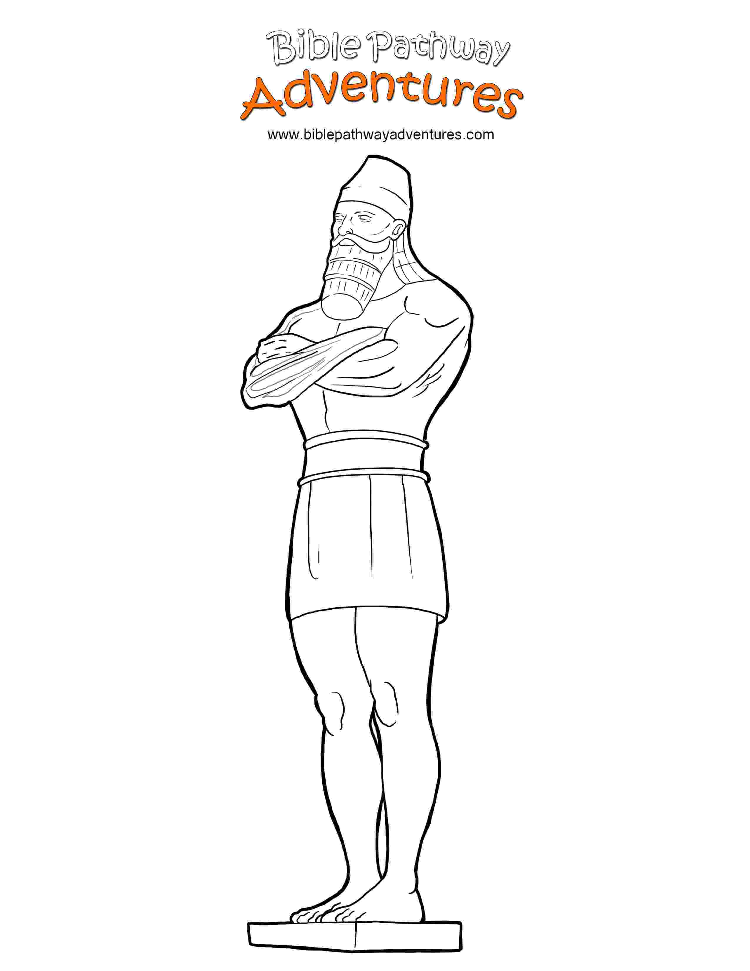 nebuchadnezzar coloring page my children39s curriculum daniel interprets nebuchadnezzar nebuchadnezzar page coloring