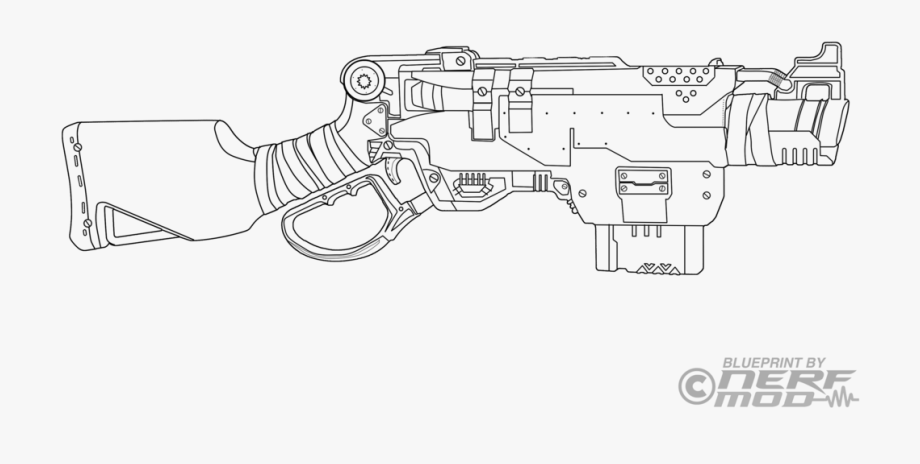 nerf gun colouring pages drawn pistol coloring page nerf gun painting template nerf pages colouring gun
