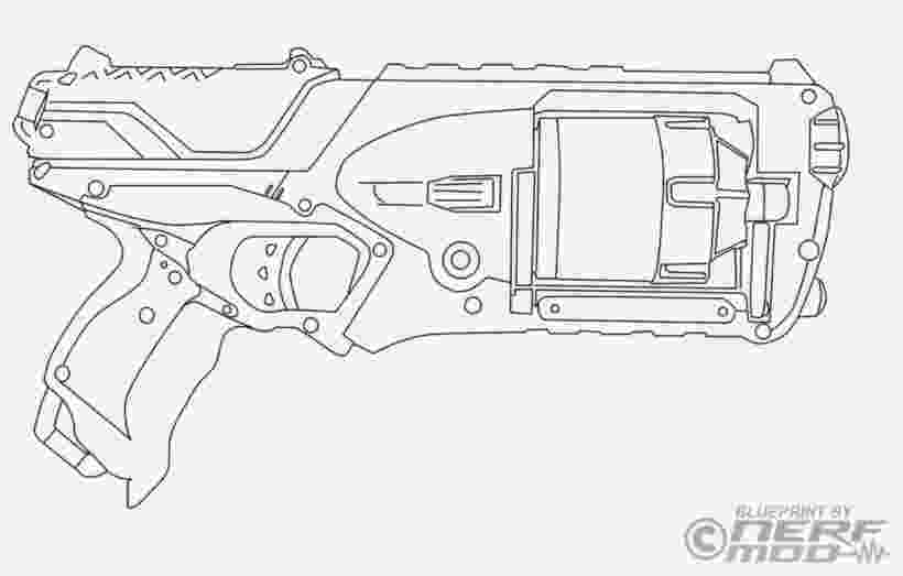 nerf gun colouring pages nerf gun coloring pages 92277 technical drawing colouring nerf pages gun