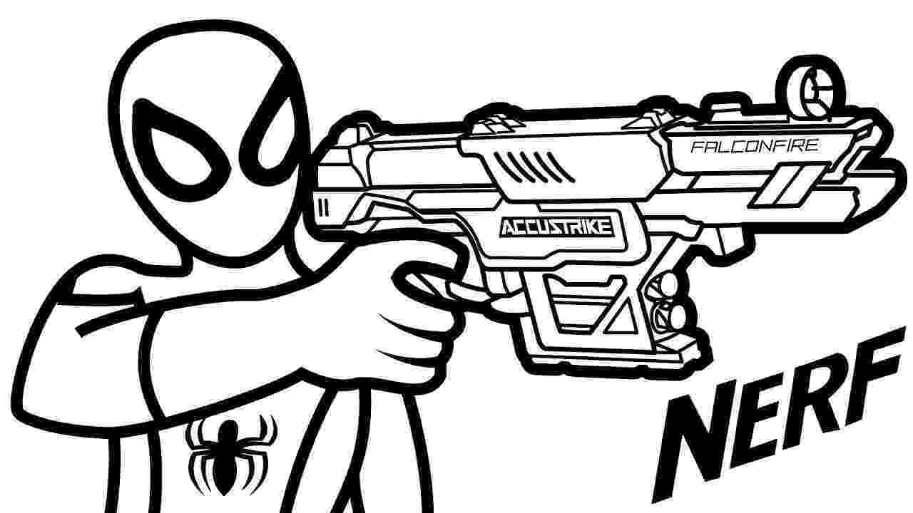 nerf gun colouring pages nerf gun drawing at getdrawingscom free for personal nerf colouring gun pages