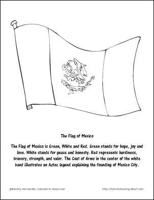 new mexico flag coloring page coloring page flag mexico flag coloring pages mexican new page mexico flag coloring