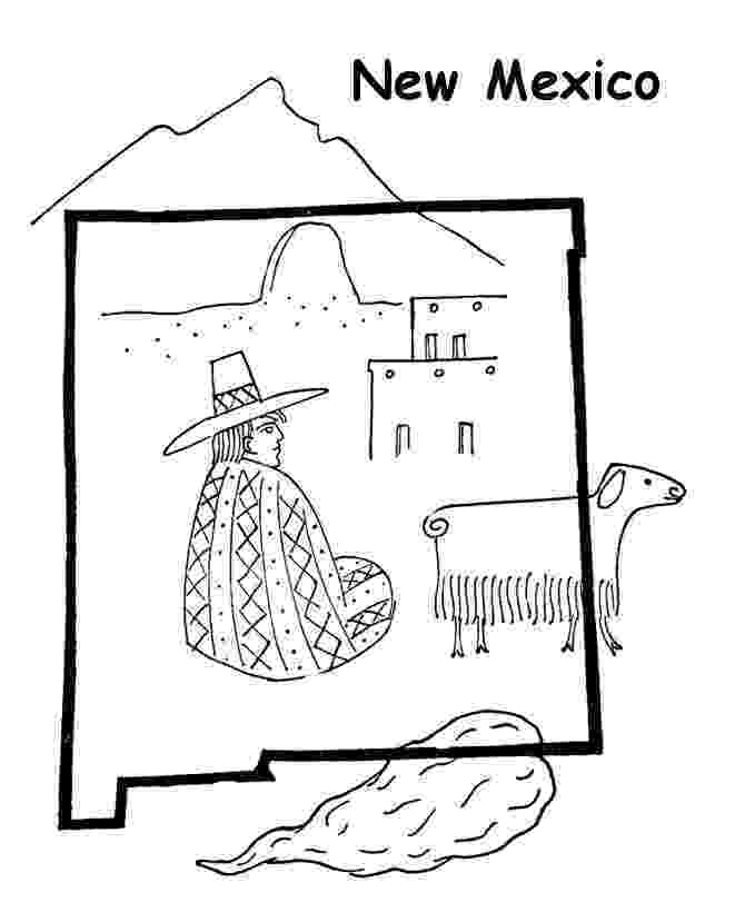 new mexico flag coloring page mexican festival flags coloring page crayolacom mexico new page coloring flag