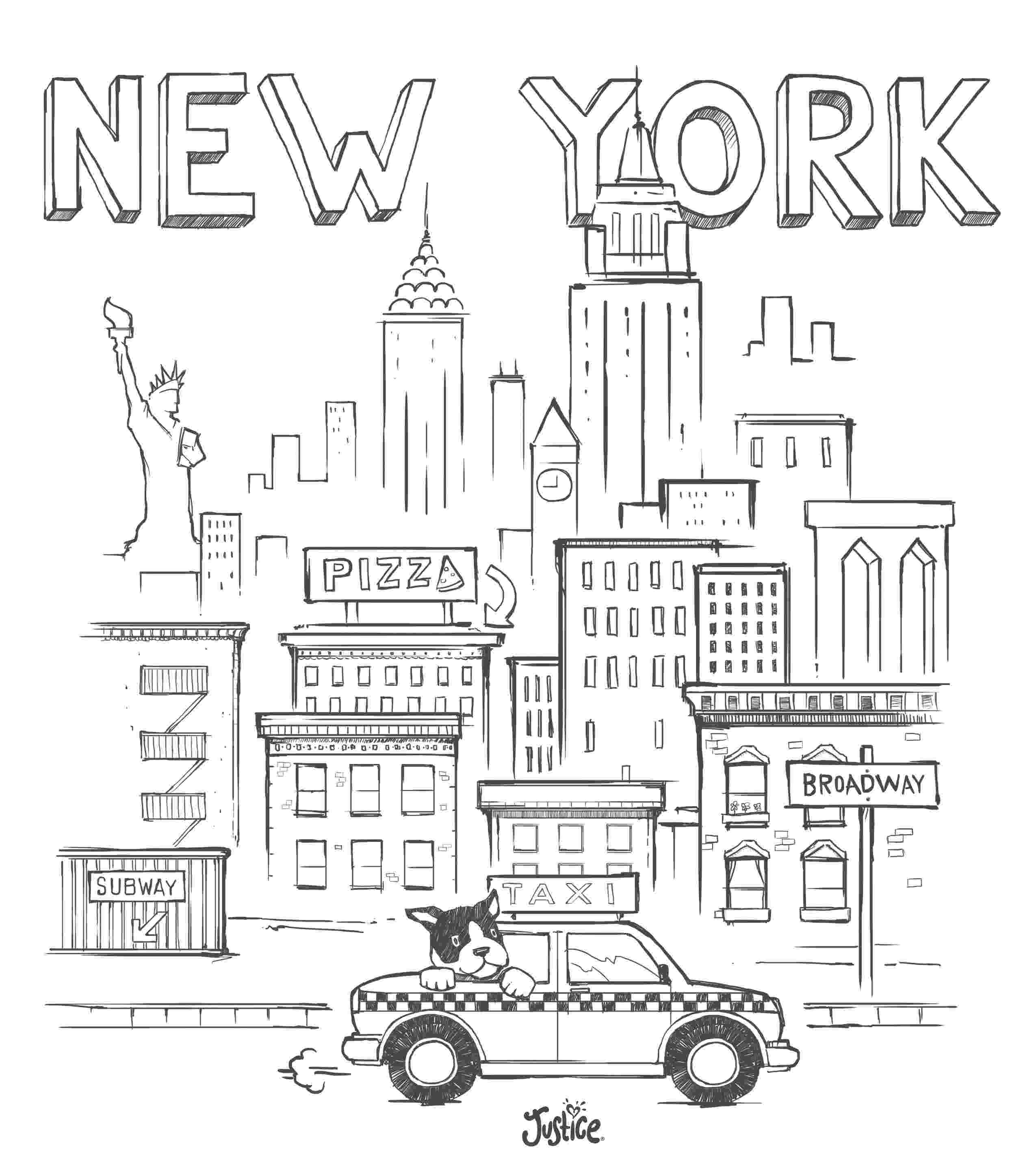 new york coloring pages printable city coloring pages best coloring pages for kids printable new coloring york pages