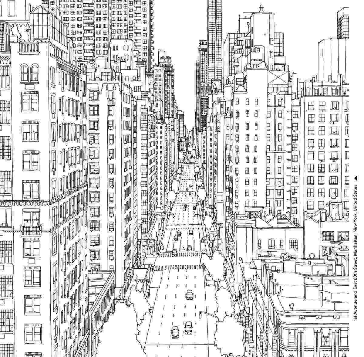 new york coloring pages printable city coloring pages to download and print for free york pages coloring printable new