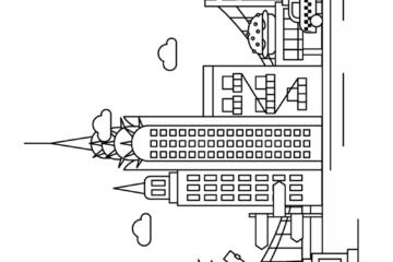 new york coloring pages printable dakota apartments building in new york coloring page coloring printable york new pages