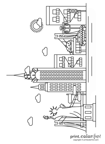 new york coloring pages printable statue of liberty new york coloring page pages coloring new york printable