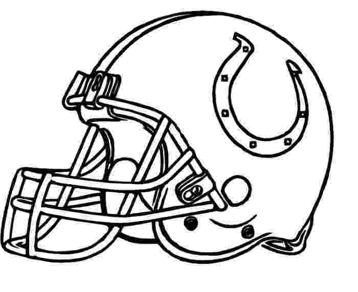 nfl coloring helmets helmet colts indianapolis coloring pages football coloring nfl helmets