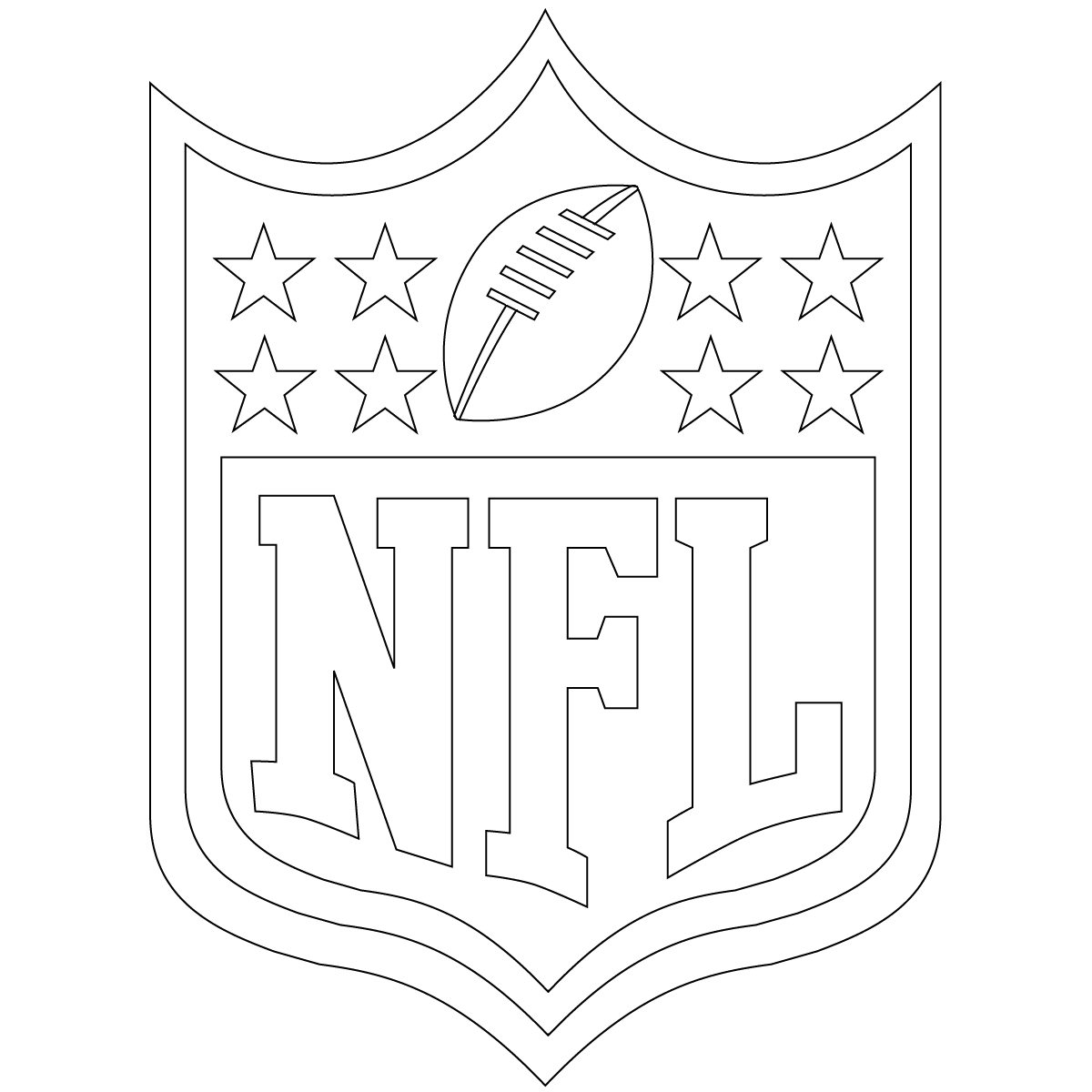 nfl football pictures to color football coloring pages sheets for kids football color nfl pictures football to