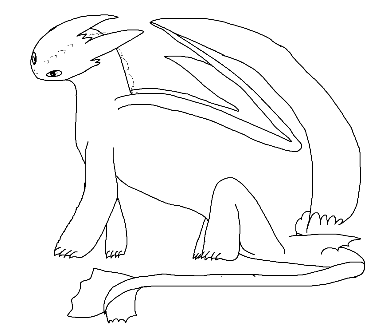 night fury colouring pages the best place for coloring page at coloringsky part 10 colouring fury night pages