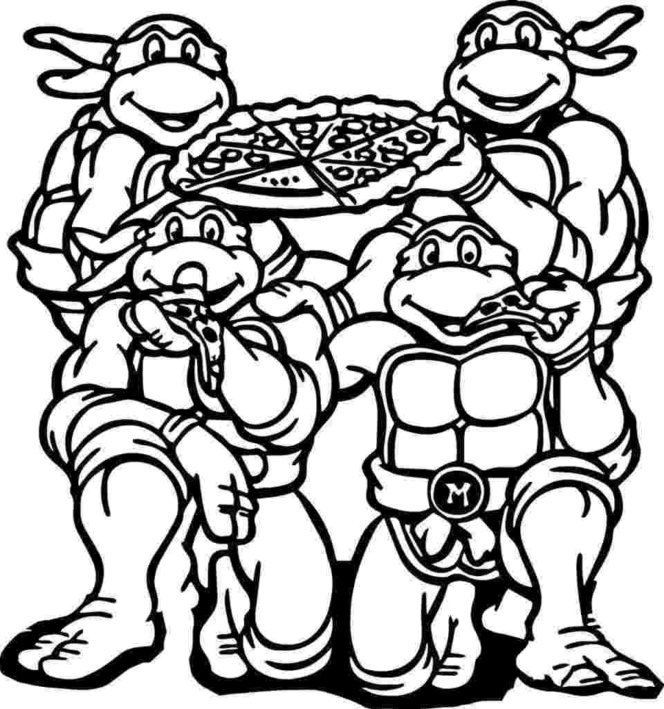 ninja turtle picture to color teenage mutant ninja turtles coloring pages best turtle to picture color ninja