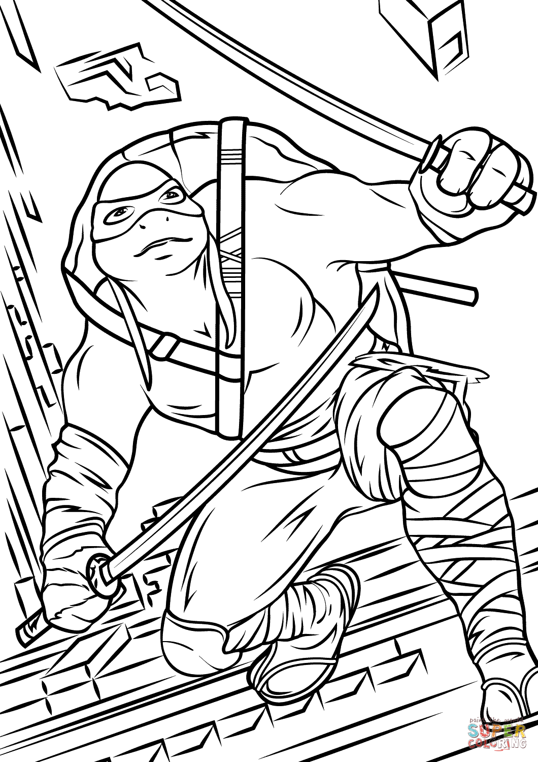 ninja turtles color coloring pages teenage mutant ninja turtles coloring home ninja color turtles