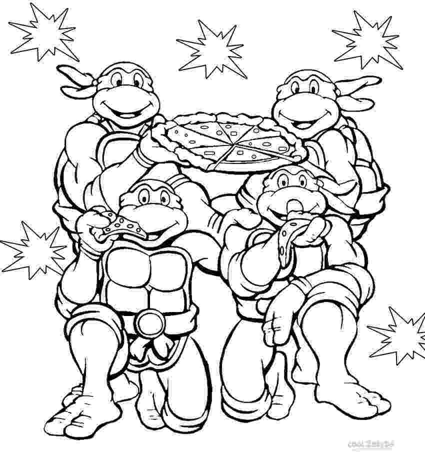ninja turtles color ninja turtle coloring pages free printable pictures ninja turtles color
