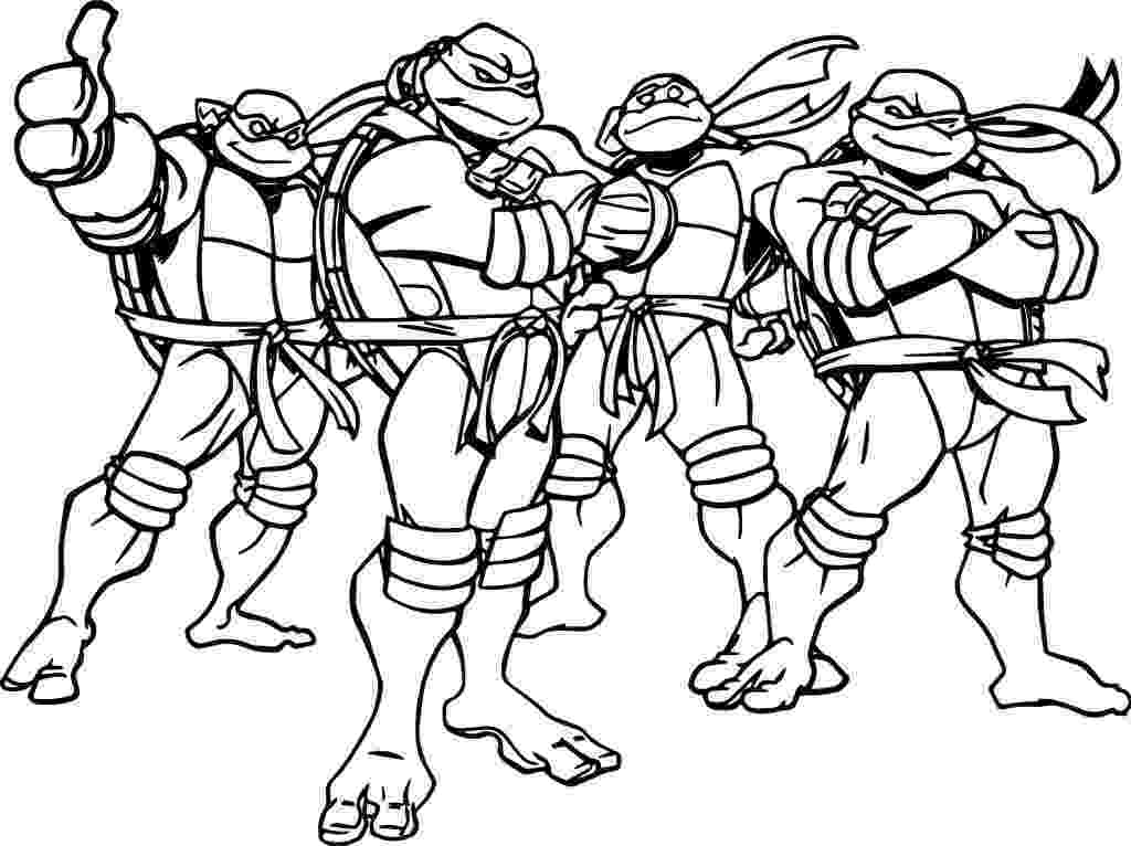 ninja turtles color ninja turtles cartoon coloring page wecoloringpagecom ninja color turtles