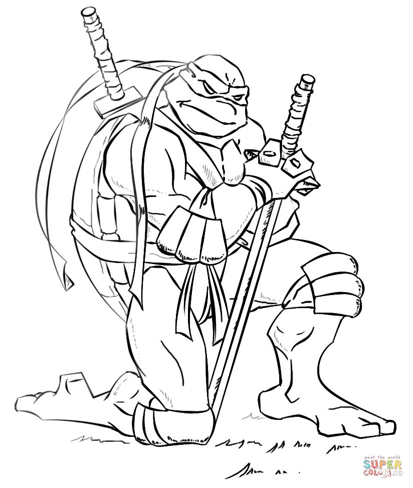 ninja turtles free coloring pages teenage mutant ninja turtles cartoon coloring page coloring ninja turtles pages free