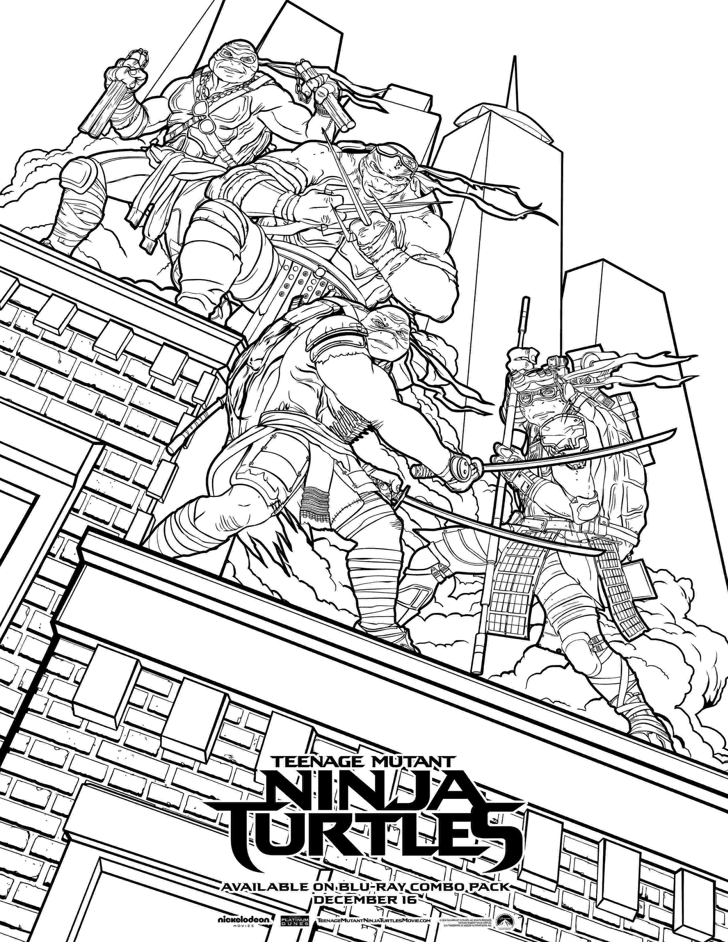ninja turtles pictures to color ninja turtle leonardo coloring page coloring home color pictures to turtles ninja