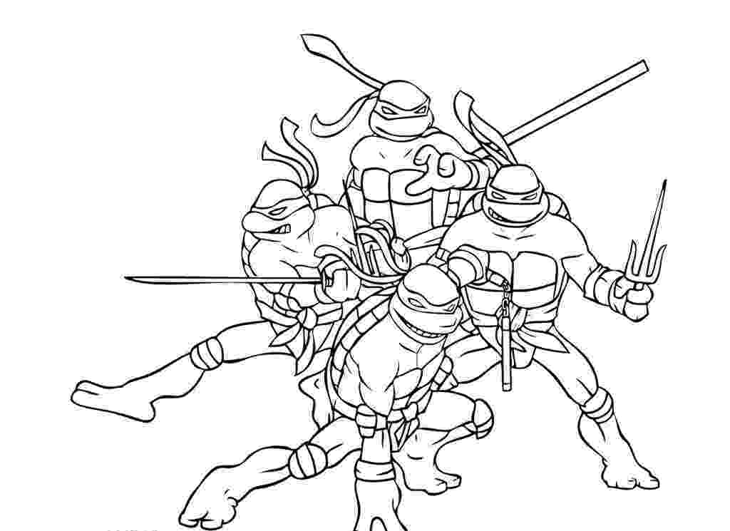ninja turtles pictures to color ninja turtles coloring pages from animated cartoons of ninja color to pictures turtles