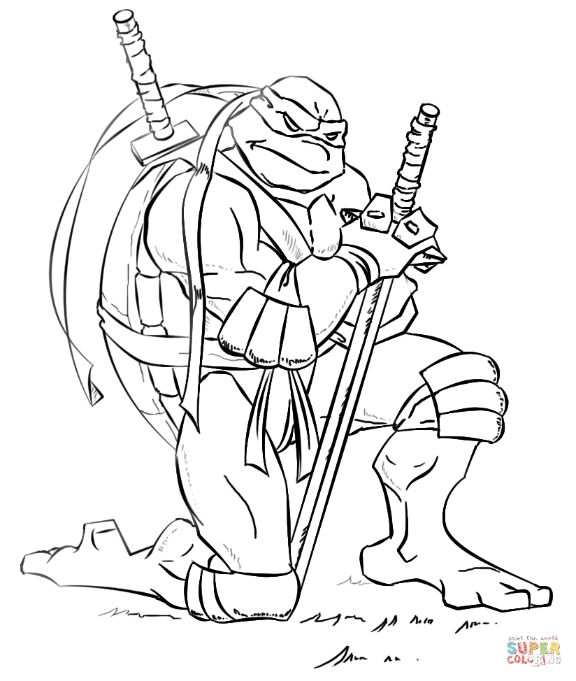 ninja turtles pictures to color tmnt coloring pages getcoloringpagescom to pictures ninja turtles color