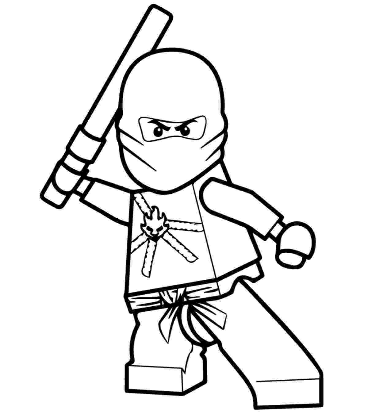 ninjago coloring cartoon coloring pages momjunction ninjago coloring