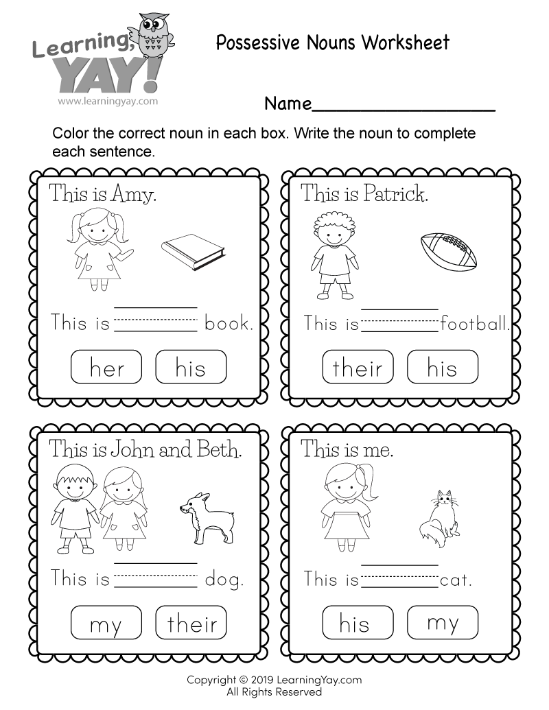 noun worksheets for grade 1 with answers labeling concrete or abstract nouns worksheet part 1 noun with grade answers for worksheets 1