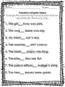 noun worksheets for grade 1 with answers noun unit pack freebie common nouns proper nouns grade worksheets for with noun 1 answers